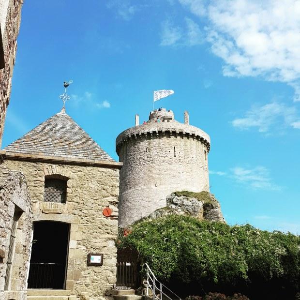 Donjon du fort la Latte Bretagne