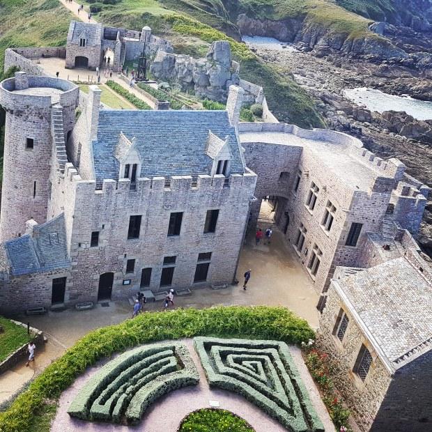 Vue depuis le donjon du Fort la Latte Bretagne