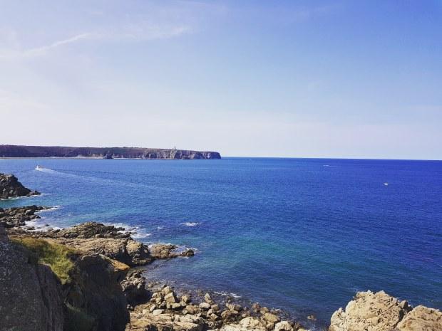 Vue sur le Cap Frehel Bretagne