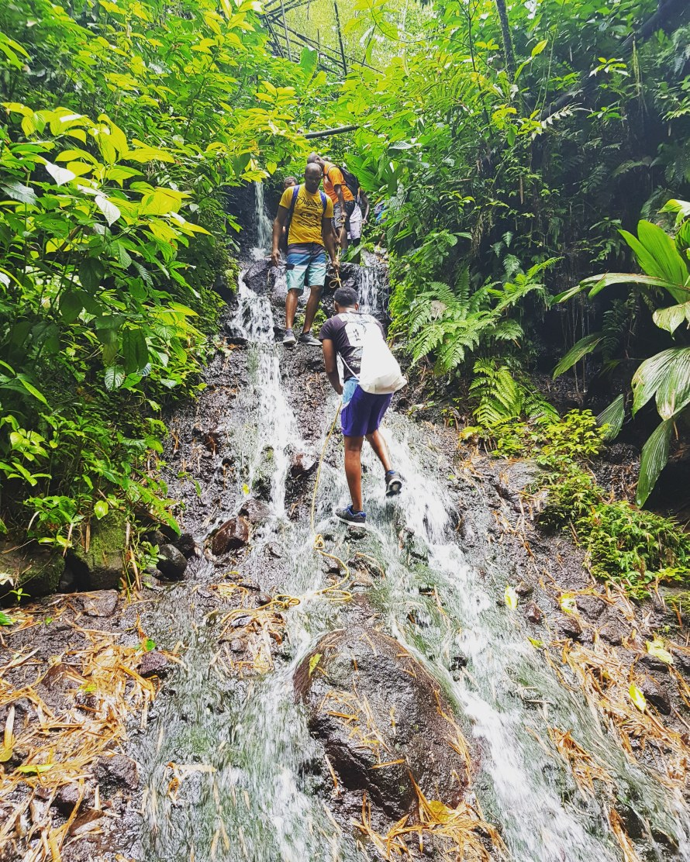 Cascade Dany Martinique