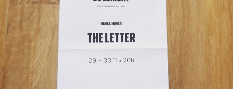 Affiche The Letter Mani Mungai