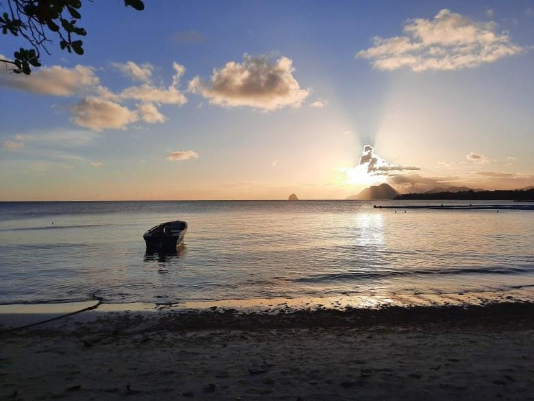En route vers les Antilles Martinique