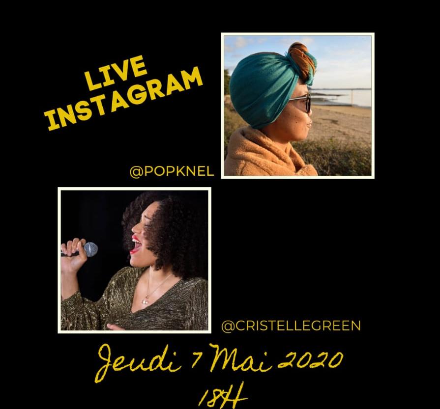 Live Instagram Popknel Cristelle Green