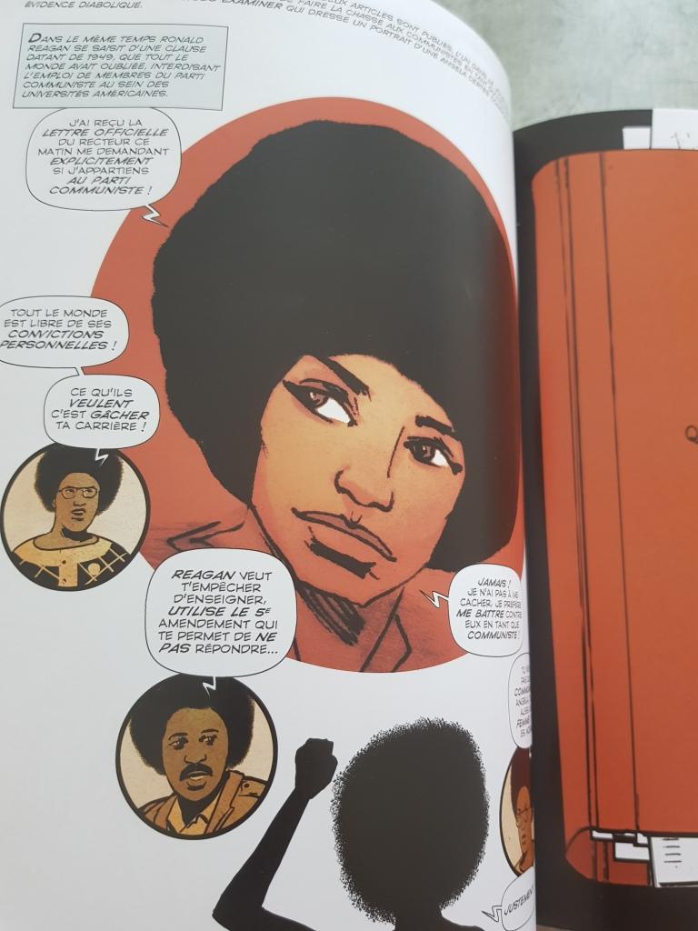 Miss Davis bande dessinée